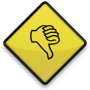 088888-yellow-road-sign-icon-business-thumbs-down
